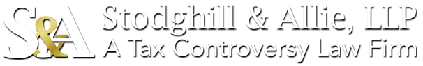 Stodghill & Allie, LLP - A Tax Controversy Firm